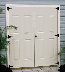 exterior double doors for shed. Beautiful Doors Marvelous Exterior Double Doors For Shed Fancy Design Plan 48 With  For
