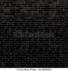 seamless black wall texture. Delighful Texture Seamless Black Brick Wall  Csp18833223 To Black Wall Texture