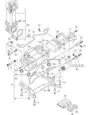 For see attached illustration if its 3a 3b or 3c they seem to e as a set part no 7l0 698 853 a 1 set of fastening parts for pressor