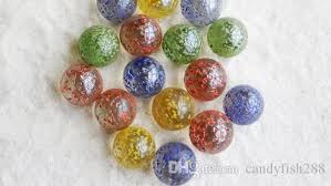 Marble Balls Decoration Awesome Home Garden Rare Glass Bead Marble 32mm Color Five Color