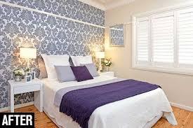 how to hang wallpaper in the bedroom