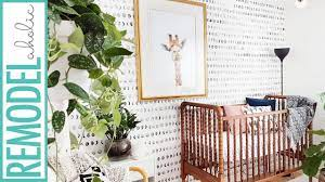 Easy DIY Hand Painted Faux Wallpaper ...