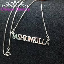 Оптовая продажа имя ожерелье <b>Золотая</b> пластина Твердое ...