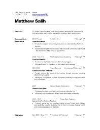 teacher resume 2010 . dance instructor resumes