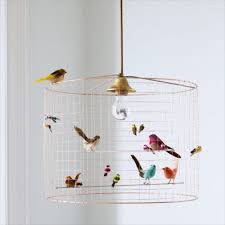creative home design cool volires bird cage chandelier chandeliers ceiling lights intended for cool birdcage