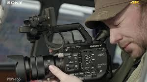 sony fs5. pxw-fs5 official 4k video \ sony fs5