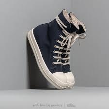 Rick Owens Shoe Size Chart Rick Owens Drkshdw Sneakers Indigo Milk Footshop
