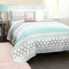 quilts childrens quilt sets elephant stripe set lush full size bedding decor toddler girl twin children