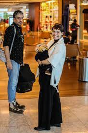 Filho de Leticia Colin e Michel Melamed, Uri tem 2 meses de vida -  Purepeople