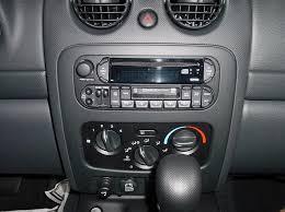 jeep liberty factory radio