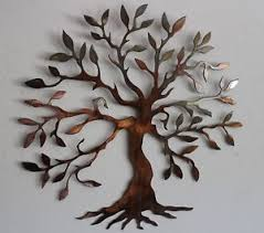 olive tree tree of life metal wall art decor on wall art metal tree of life with metal tree wall art ebay