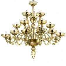 karma 21 lights amber murano glass chandelier