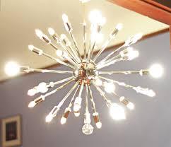 mid century lighting. the sputnik chandelier is a staple of mid century modern design lighting