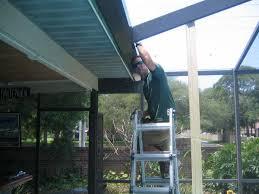 pool cage repair.  Repair Boyleu0027s Aluminum U0026 Screening Pool Cage Screen Enclosures Rooms  Seamless Gutters Installation And Repair Serving Tampa Clearwater Dunedin  To Cage Repair S