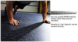 commercial hospital gym indoor rubber flooring mat rubber carpet roll for playground heat resistant