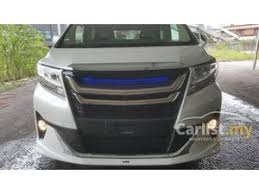 new car 2016 malaysiaSearch 35 Toyota Alphard New Cars for Sale in Malaysia  Carlistmy