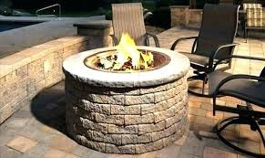 outdoor propane fire pit kits natural gas outdoor fire pit kits to build a how pertaining