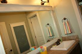 Framing A Large Mirror Bathroom Mirror Frames Ideas Design Ideas Decors