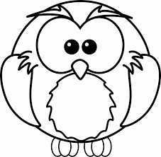 Owl Coloring Pages For Kids Printable With Unlock Owl Picture To