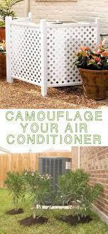 Lattice Air Conditioner Screen Pinterestteki 25den Fazla En Iyi Hide Air Conditioner Fikri