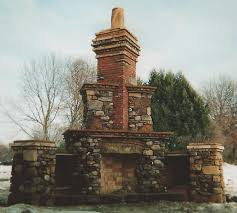 outdoor rumford fireplace salvaged materials and keepsakes