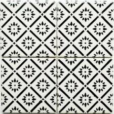 Black And White Pattern Tile Classy 48 Best TILE Images On Pinterest Tiles Patterns And Cement