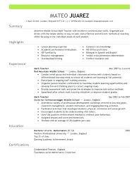 Preschool Teacher Assistant Resume Megakravmaga Com