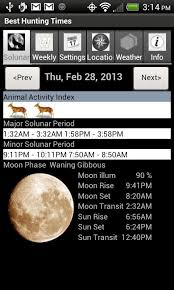 Best Hunting Times 2 1 Apk Download Android Weather Apps
