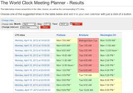 Group Scheduler Free Tools For Scheduling Your Next Meeting
