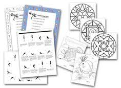 Small Picture Printable yoga sheets affirmations and coloring pages from