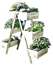 outdoor pot stand garden stands pots home collections 6 plant uk