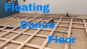 floor diy how to build a floating floor