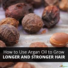 how to use argan oil to grow longer