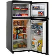 refrigerator 10 cu ft. avanti ff1009ps 10 cu. ft. apartment size refrigerator / freezer interior view cu ft 1