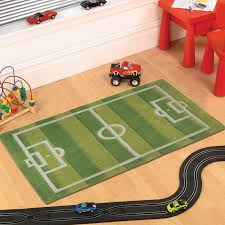 childrens football pitch rug