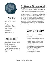 Animator Resume Animator Resume Therpgmovie 26