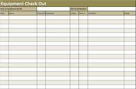 Check Out Sheet Inventory Check Out Sheet Template Templates Management
