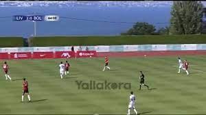 العارضة تحرم صلاح من هدف أمام بولونيا