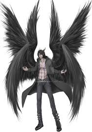 lucifer angel form friends oc lucifer true form by satanielz on deviantart