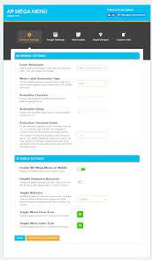 wordpress mega menu ap mega menu documentation accesspress default main settings