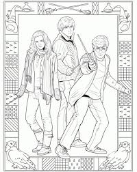This fun harry potter printable craft can be used for dressing up or perhaps for invitations or decorations for a harry potter party. Ginny Weasley Coloring Pages Coloring Home