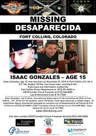 Missing Persons Posters Extraordinary Isaac Gonzales America's The Worlds Most Missing Wanted
