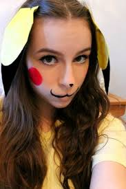 makeup for pikachu costume mugeek vidalondon