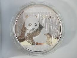 <b>2015 Chinese Panda</b> 1 kilogram of 99.9 silver <b>commemorative</b> coin ...