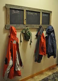 Coat Rack Idea DIY Chalkboard Coat Rack Project 97