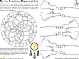History Of Dream Catchers For Kids Paper Projects Worksheets Free Printables Page 100 Education 7