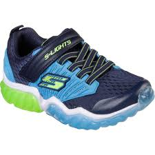Skechers Ice Lights Skechers S Lights Rapid Flash Sneaker Kids Navy Blue
