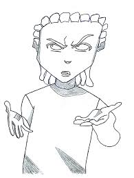 The Boondocks | Free Coloring Pages on Art Coloring Pages