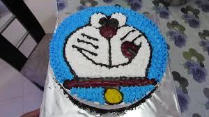 Eggless Doraemon Cake For Children In Hindi Cake Decoration Youtube