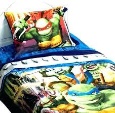 teenage mutant ninja turtles bedroom set turtle medium image for twin bedding que